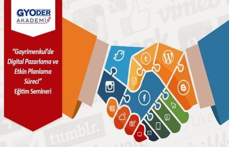 Gayrimenkulde Etkin Planlama Süreci semineri 9 Haziran'da!