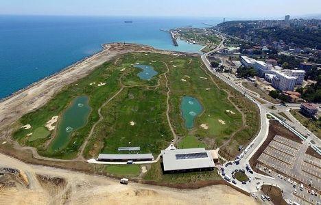 Samsun golf sahası bu akşam açılacak!