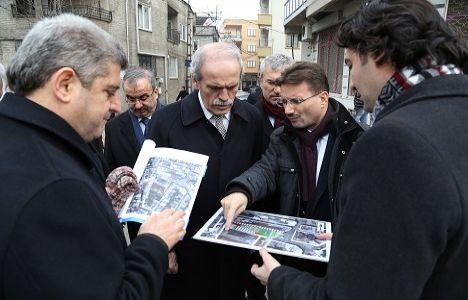 Bursa Osmangazi'deki 5 bina yıkıldı!