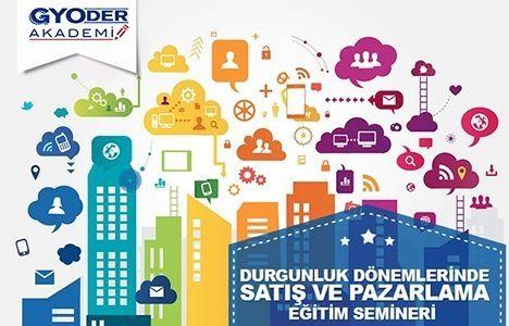 GYODER Akademi'nin satış ve pazarlama semineri 3 Mart'ta!