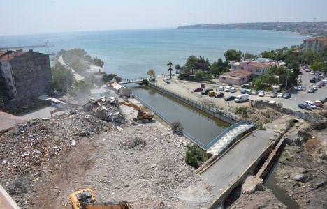Silivri Gümüşoğlu Pasajı'nda yıkımlar tamamlandı!