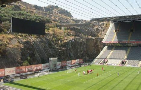 İşte Braga'nın ilginç stadı!