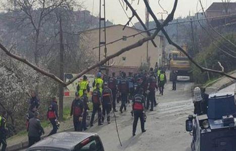 İstanbul Küçükarmutlu'da kentsel dönüşüm yıkımları başladı!