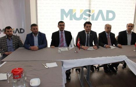 MÜSİAD Manisa şubesi kentsel dönüşümü ele aldı!