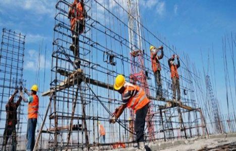 Kasım'da inşaat sektörü yüzde 7,5 oranında istihdam edildi!