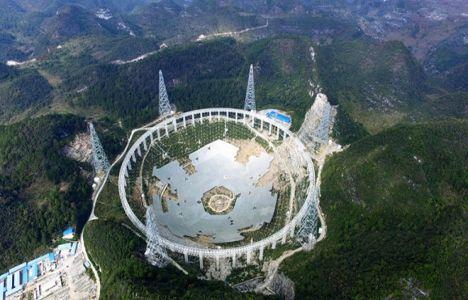 Çin'de inşa edilen radyo teleskobu 9 bin kişinin yerini değiştirecek!