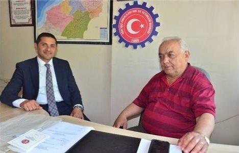 Zonguldak Üzülmez emeklilerinden Mustafa Sarıoğlu'na TOKİ talebi!