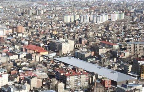 Erzurum'da konut ihtiyacı fiyatları artırdı!