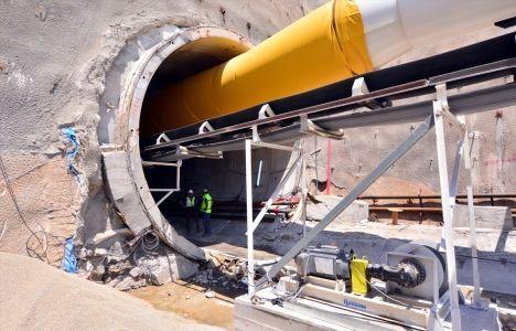 Bahçe- Nurdağ Demiryolu Tüneli inşaatında son durum!