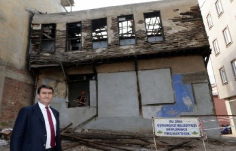 Osmangazi'de 1 yılda 66 metruk bina yıkıldı!