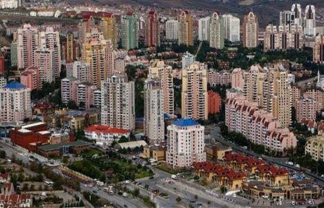 Türkiye'de nüfusun yüzde 81'i apartmanlarda yaşıyor!