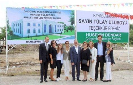Mehmet Tülazoğlu Adalet MYO'nun inşaatı tamamlandı!