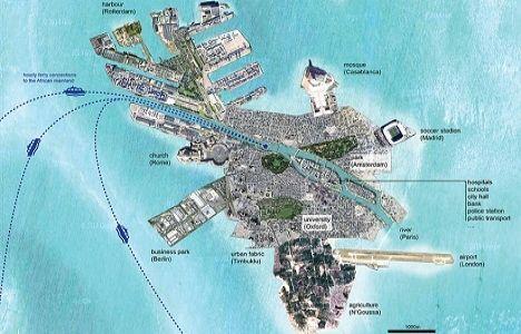 Mülteciler için Akdeniz'e yapay ada inşa edilecek!