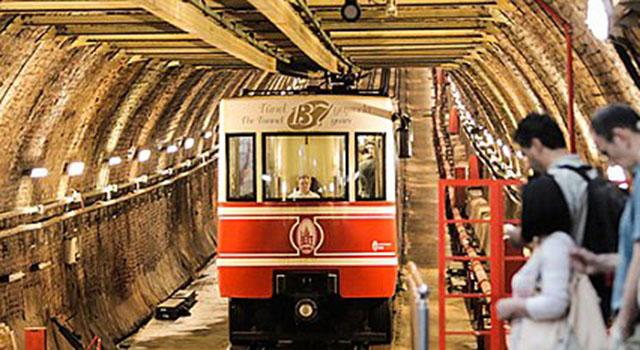 Karaköy-Beyoğlu Tüneli 140'ncı Yaşını Kutluyor