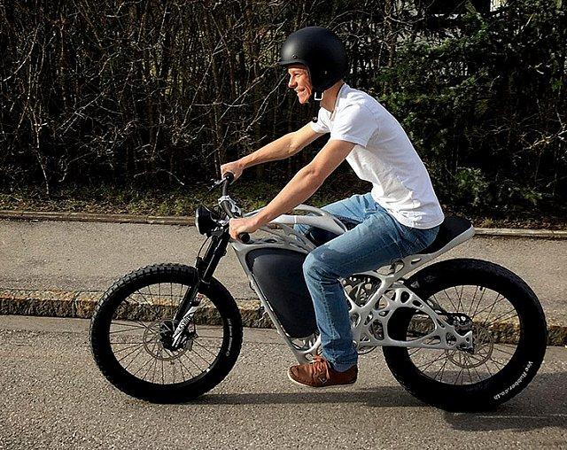 3D Yazıcıdan Çıkan Motosiklet