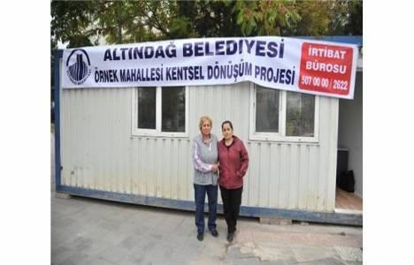 Ankara Örnek Mahallesi'nde kentsel dönüşüm bürosu kuruldu!