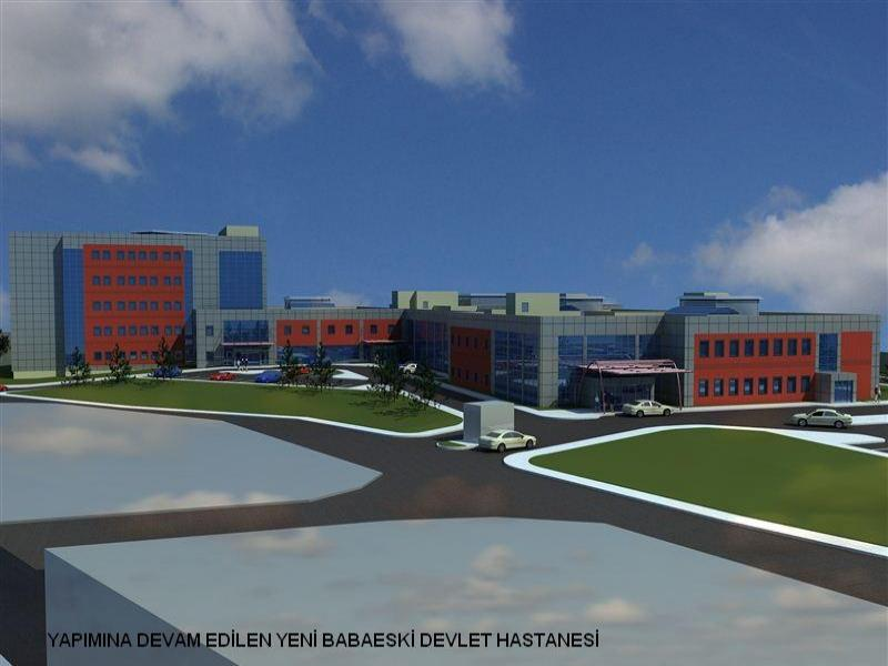 Babaeski'de Yeni Devlet Hastanesinin İnşaat Çalışmaları Tamamlandı
