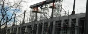 Beşiktaş'ta Çatı İnşaatı Heyecanı