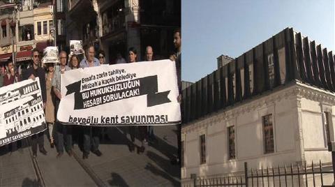 """Beyoğlu'nda """"Kaçak Saray Yavrusu"""" İddiası"""