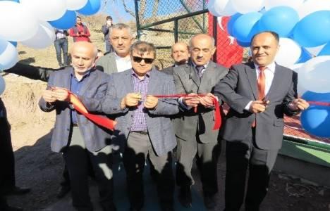 Beyşehir'e çok amaçlı spor sahası