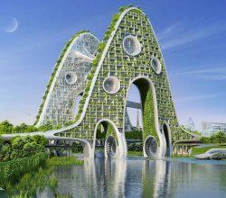 Yeşili Seven Binalar