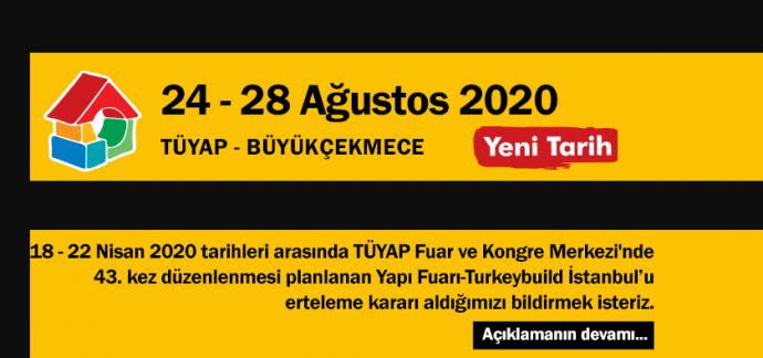 Yapı Fuarı Ertelendi mi? Turkeybuild 2020 Ne Zaman?