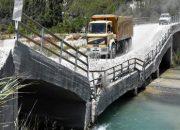 Çöken Köprü  Vatandaşlar Tarafından Trafiğe Açıldı