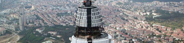 Çamlıca Televizyon Kulesinde Son Durum !!!