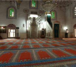 Mimar Sinan'ın Camisi 5 Asır Alttan Isıtılmış