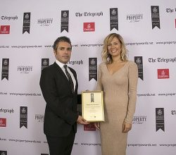 AS Architects ve Gökhan Aksoy Architects'e European Property Awards 2016-2017'den Ödül