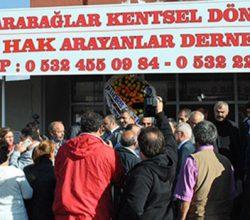 """""""Kentsel Dönüşüm Ankara'dan Olmaz"""""""