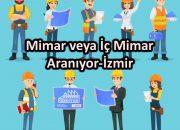 Mimar veya İç Mimar Aranıyor-İzmir