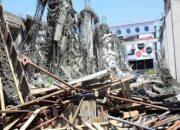 Mersin'de inşaatta göçük: 1 yaralı!