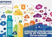 GYODER Akademi'nin satış ve pazarlama semineri 18 Şubat'ta!