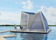 Avrupa'da konut yetersizliğine karşı yüzen evler inşa ediliyor!