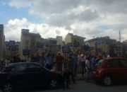 Samsun Towers mağdurları Esenyur't'ta eylem yaptı!