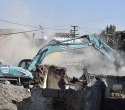 Ankara Hıdırlıktepe'de 200 gecekondu yıkıldı!