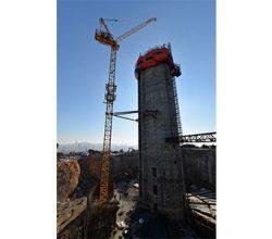 Küçük Çamlıca TV-Radyo Kulesi 128 metreye ulaştı!
