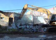 İskenderun'daki metruk binalar yıkılıyor!
