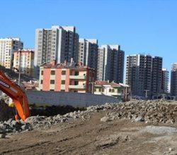 Niğde Efendibey Dönüşüm Projesi için 1.700 yapı yıkıldı!