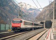 İsviçre'deki Gotthard Base Tüneli'nde seferler başladı!