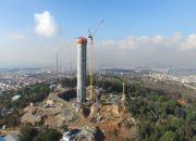 Küçük Çamlıca TV-Radyo Kulesi 130 metreye ulaştı!