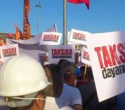 """""""Taksim Dayanışması"""" Davası bugün yapıldı"""