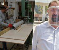 Mühendisten PVC Su Borusu ile Yüz Maskesi İcadı