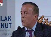 Ali Ağaoğlu: Usul hatası yaptık