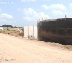 Atıksu Arıtma Tesisi Yapım Çalışmaları Devam Ediyor