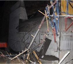 Baraj inşaatında facia