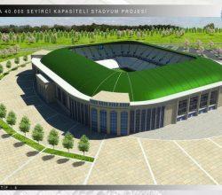 Başkentin Yeni Stadı Hazır