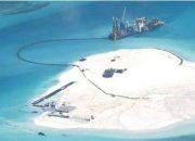 Çin Denizde 'Kum Seddi' İnşa Ediyor