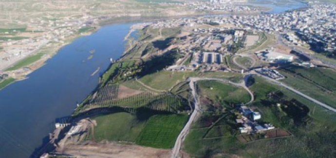 Cizre'ye Günlük 100 Bin Metreküp Kapasiteli İçme Suyu Tesisi